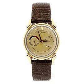 Le Coultre Vintage FUTUREMATIC Gold Plated Fancy Lugs Automatic Dress Watch