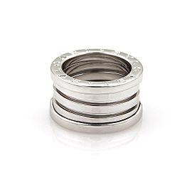 Bvlgari Bulgari B Zero-1 18k White Gold 13mm Band Ring Size EU 50-US 5