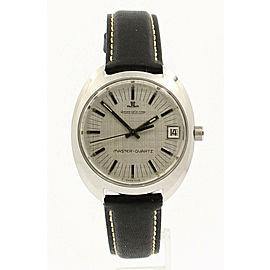 JAEGER LE COULTRE Vintage Master Quartz Stainless Steel 38mm Men's Watch
