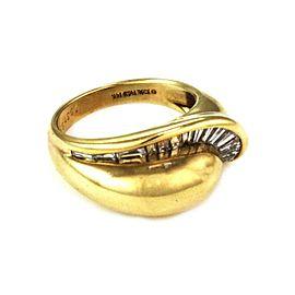 Jose Hess 1.00ct Diamond 14k Yellow Gold Fancy Band Ring Size - 7.25