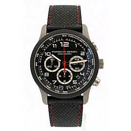 Porsche Design P6612 Dashboard Chronograph Titanium Watch - MISSING PUSHER AS-IS
