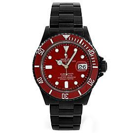 Rolex Red Submariner 16610 DLC-PVD