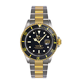 Rolex Submariner Black Pre-Owned 16613