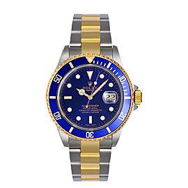 Rolex Submariner Blue 16613 Watch