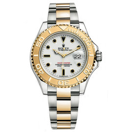 Rolex Yacht-Master 16623 Two-Tone White Dial 40mm Mens Watch