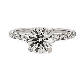 Michael B. MB1-4X-PAR-00 Platinum Diamond Ring