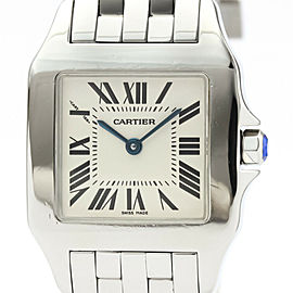 CARTIER Santos Demoiselle Steel Quartz Unisex Watch W25065Z5