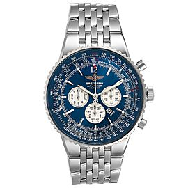 Breitling Navitimer Heritage Blue Dial Mens Watch A35350