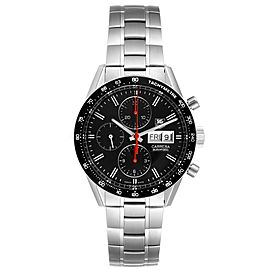 Tag Heuer Carrera Black Dial Chronograph Mens Watch