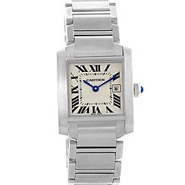 Cartier Tank Francaise W51011Q3 25mm Womens Watch