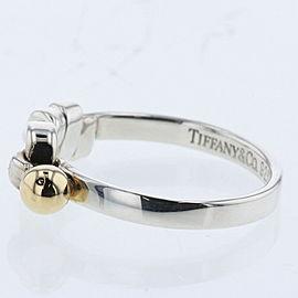 TIFFANY & Co. 18k yellow Gold Hook eye Ring