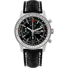 Breitling Navitimer World BTA2432212-B726-760P-A20BA.1 Stainless Steel Automatic 46mm Mens Watch