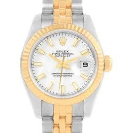 Rolex Datejust 179173 Stainless Steel and 18K Yellow Gold Automatic 26mm Womens Watch