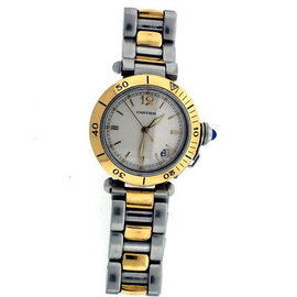 Cartier Pasha C 18K Yellow Gold & Stainless Steel 35mm Watch