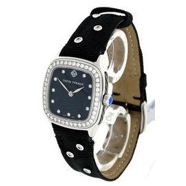 David Yurman Stainless Steel & Diamond 25mm Watch