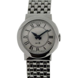 Bedat & Co. No. 3 Stainless Steel Womens 25mm Watch