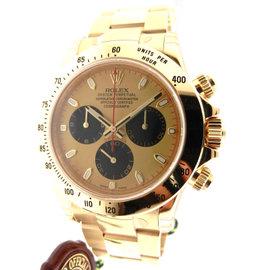 Rolex Daytona 116528 Yellow Gold Oyster Paul Newman Dial 40mm Watch