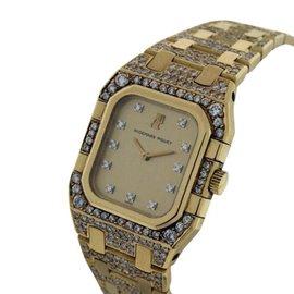 Audemars Piguet Classique 18K Yellow Gold & Diamond Womens Watch