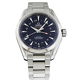 Omega Aqua Terra 150 M C0-Axial GMT 231.13.43.22.03.001 Stainless Steel 43mm Watch