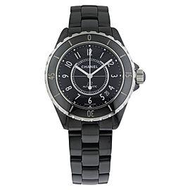 Chanel J12 Automatic 38mm h0685 Ceramic Black Watch