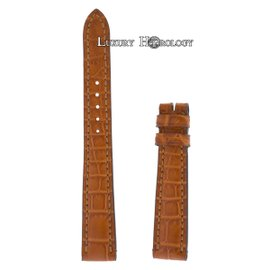 New Authentic Roger Dubuis Much More M22 14mm Medium Brown Crocodile Strap