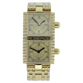 Roberge Pollux 18K Yellow Gold 37mm Womens Watch