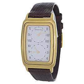 Tiffany & Co. Rectangle M 203 White Dial Swiss Quartz Unisex Watch