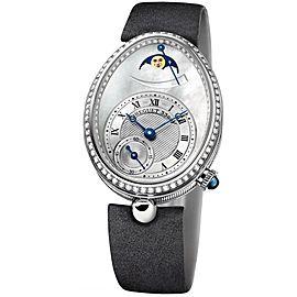 Breguet 8908BB/V2/864 D00D Reine de Naples 18Kt WG Pearl Dial Watch