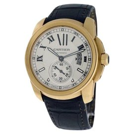 Cartier Calibre de Cartier 18K Rose Gold 42mm Watch