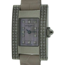 Chaumet W0121 A053 Stainless Steel Mother Of Pearl Dial 19mm Watch