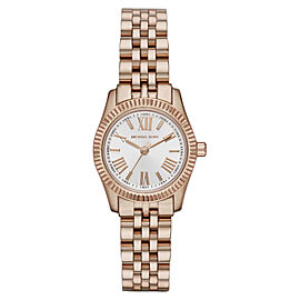 Michael Kors MK3230 Mini Stainless Steel Lexington Rose Gold-Tone Women's Watch