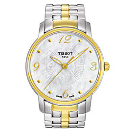 Tissot T0522102211700 Mother Of Pearl Dial Lady Two-tone Quartz Watch