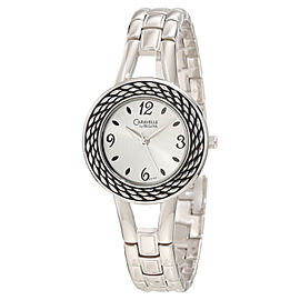 Caravelle By Bulova Women's Silver Dial Bracelet 43L143 Watch