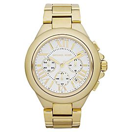 Michael Kors MK5635 Camille Gold-tone White Dial Chronograph Women's Watch