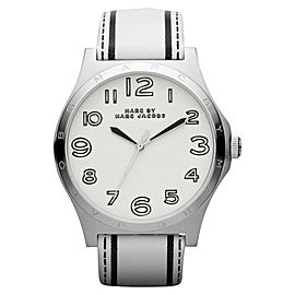Marc by Marc Jacobs MBM1230 Leather White Dial Quartz Womens Watch