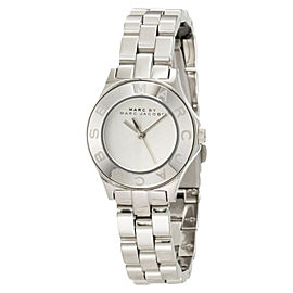 Marc By Marc Jacobs MBM3130 Blade Mini Silver Tone Stainless Steel Watch