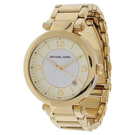 Michael Kors MK5071 Gold Round 3 Hand Date Women's Watch