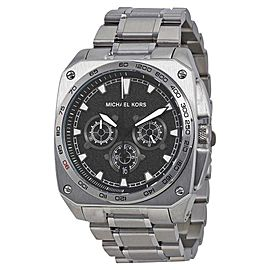 Michael Kors MK8391 Grandstand Black Dial Stainless Chronograph Men's Watch