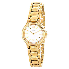 Seiko SXJW72 Gold Tone Stainless Steel Bracelet Watch
