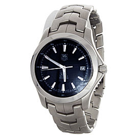 Tag Heuer WJF2112 Link Automatic Blue Dial Stainless Steel Swiss Watch