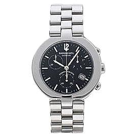 Raymond Weil 4817S/BK Allegro Chronograph Stainless Steel Men's Watch