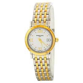 Raymond Weil 5393 Toccata Two-tone White Dial Steel Quartz Watch