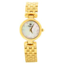 Raymond Weil Diamond Accented MOP Dial Gold-tone Steel Bracelet Watch