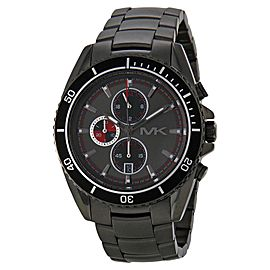 Michael Kors MK8340 Lansing Grey Dial Ion Plated Chronograph Men's Watch