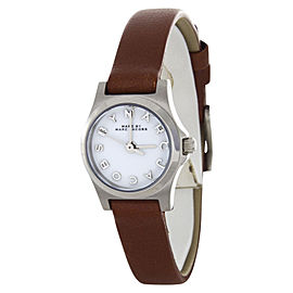 Marc by Marc Jacobs MBM1280 Brown Leather Strap Womens Watch