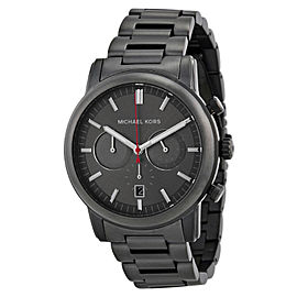Michael Kors MK8371 Pennat Gunmetal Dial Gunmetal IP Chronograph Men's Watch