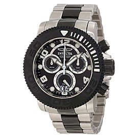 Invicta 11161 Sea Hunter Pro Diver Chronograph Black Dial Quartz Watch