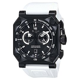 Zodiac ZMX ZO8539 Adventure Chrono Analog Display Swiss Quartz White Mens Watch