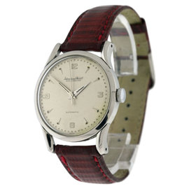 IWC Classic Stainless Steel Automatic 34mm Mens Watch
