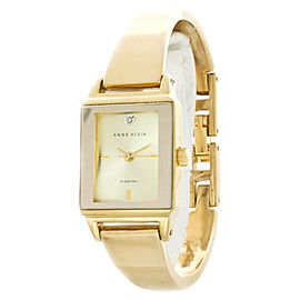 Anne Klein AK/1620 Gold-Tone Swarovski Crystal Accented Women's Watch